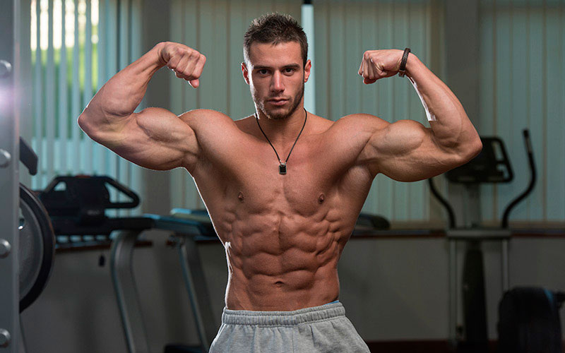 build muscle mass at home